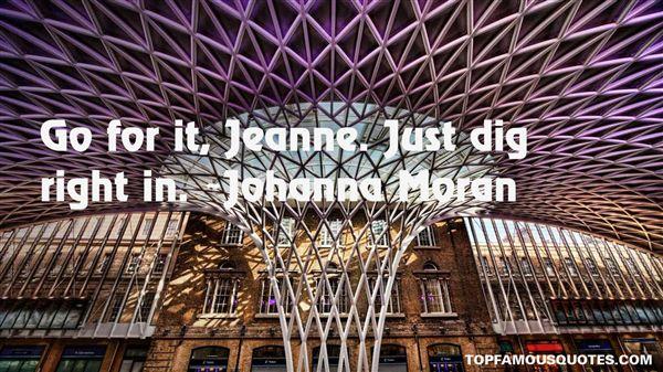 Johanna Moran Quotes