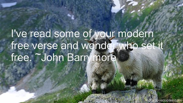John Barrymore Quotes