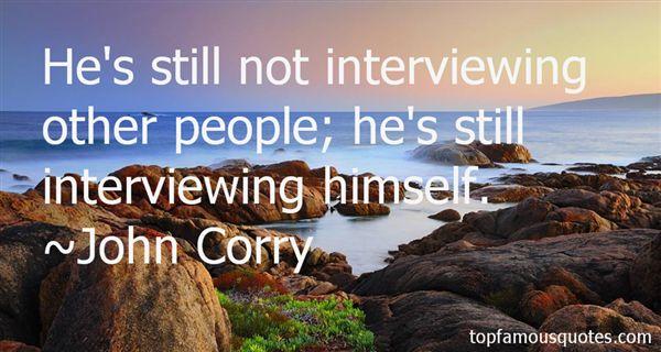 John Corry Quotes