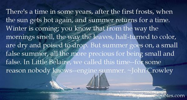 John Crowley Quotes