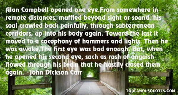 John Dickson Carr Quotes