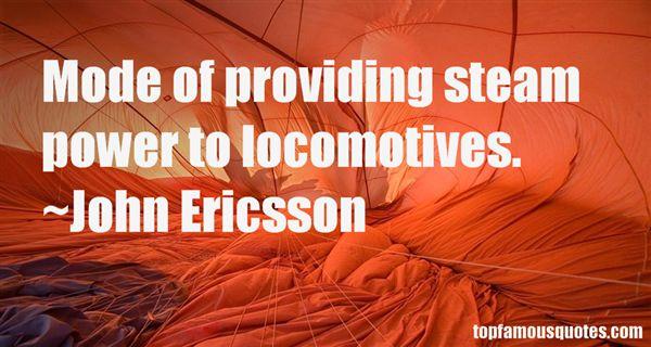 John Ericsson Quotes
