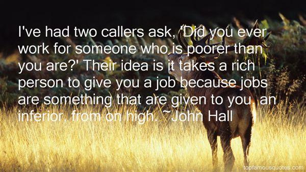 John Hall Quotes