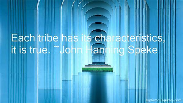John Hanning Speke Quotes