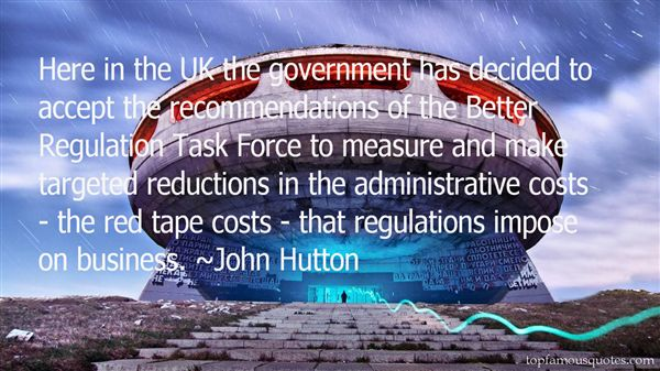 John Hutton Quotes