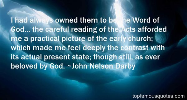 John Nelson Darby Quotes