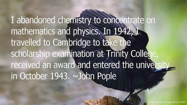 John Pople Quotes