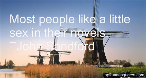 John Sandford Quotes