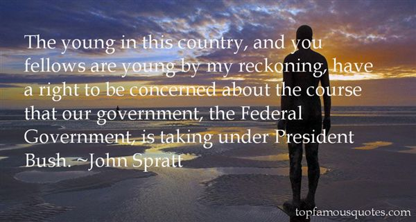 John Spratt Quotes
