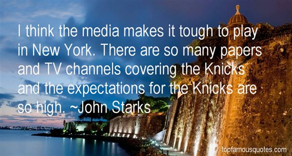 John Starks Quotes