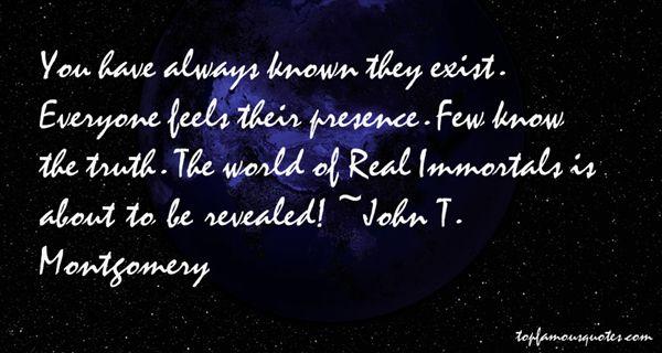 John T. Montgomery Quotes