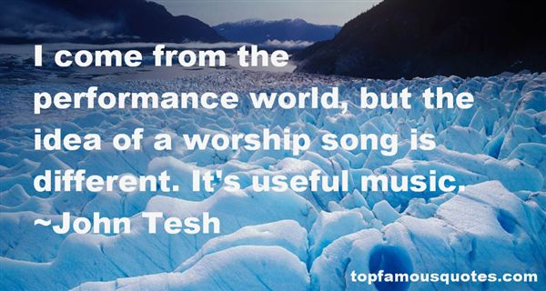 John Tesh Quotes