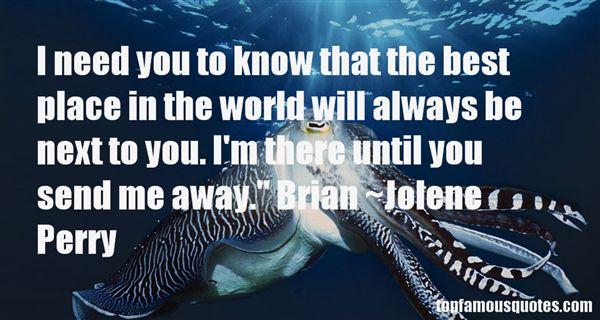 Jolene Perry Quotes