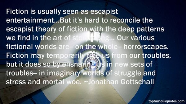 Jonathan Gottschall Quotes