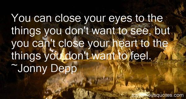 Jonny Depp Quotes