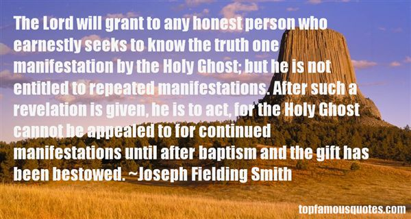 Joseph Fielding Smith Quotes
