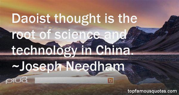 Joseph Needham Quotes