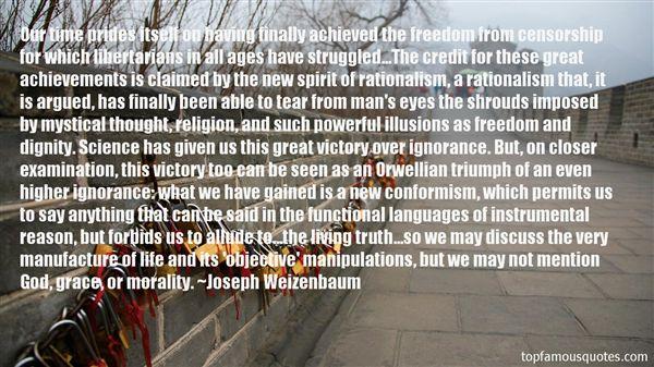 Joseph Weizenbaum Quotes