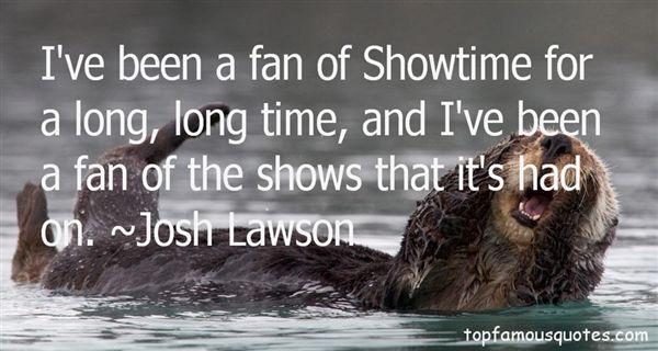Josh Lawson Quotes