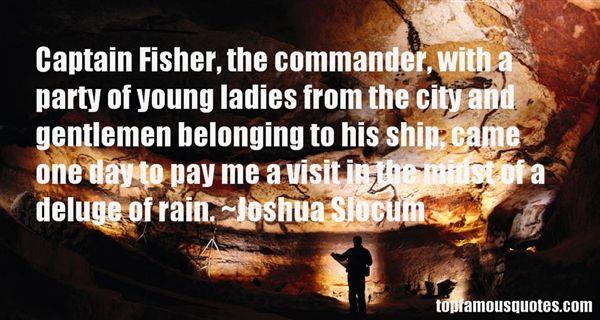 Joshua Slocum Quotes