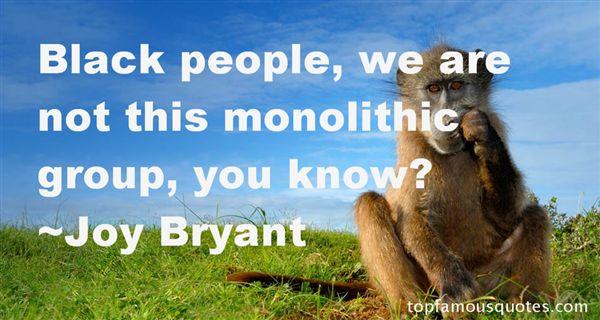 Joy Bryant Quotes