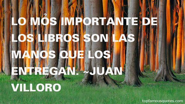 Juan Villoro Quotes