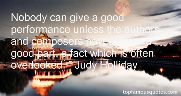 Judy Holliday Quotes