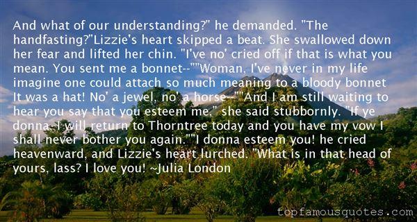 Julia London Quotes