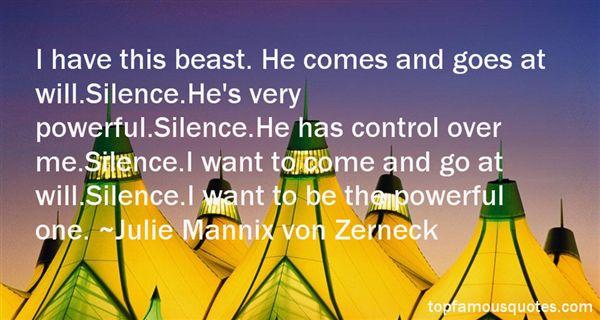 Julie Mannix Von Zerneck Quotes