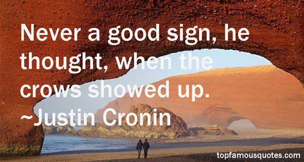 Justin Cronin Quotes