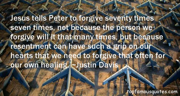 Justin Davis Quotes