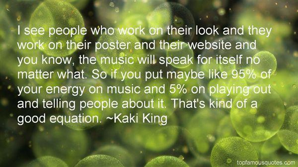 Kaki King Quotes