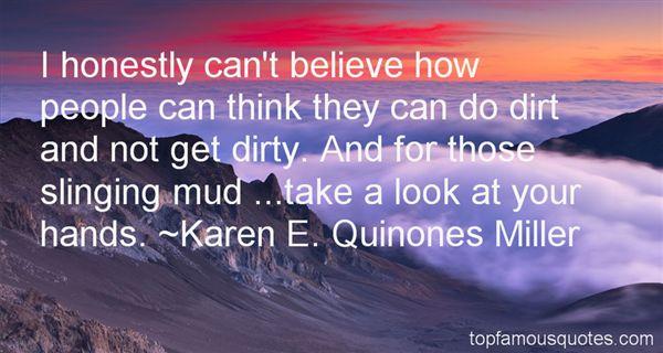 Karen E. Quinones Miller Quotes