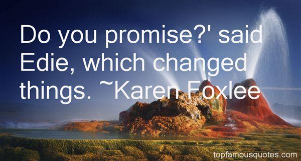 Karen Foxlee Quotes