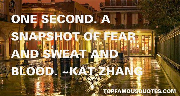 Kat Zhang Quotes