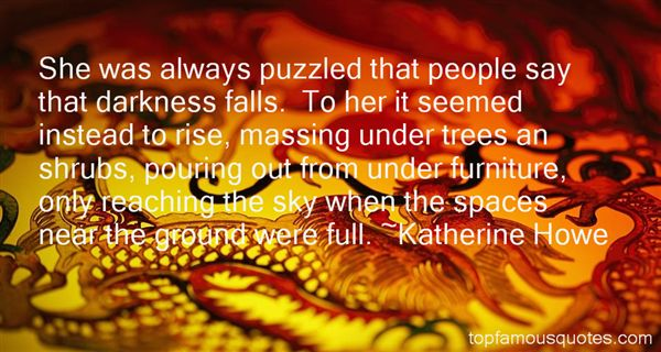 Katherine Howe Quotes