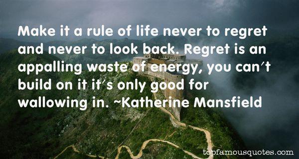 Katherine Mansfield Quotes