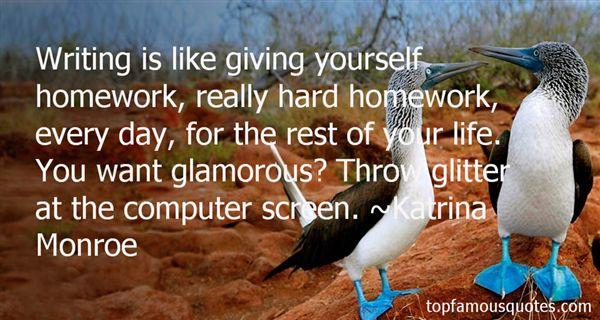 Katrina Monroe Quotes