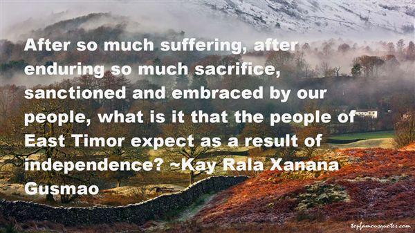 Kay Rala Xanana Gusmao Quotes