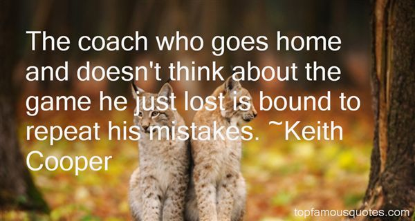 Keith Cooper Quotes