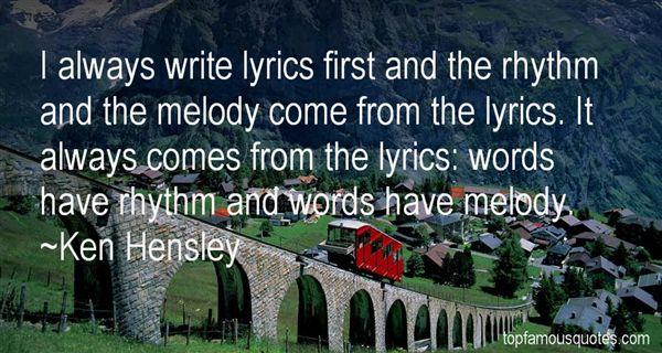Ken Hensley Quotes
