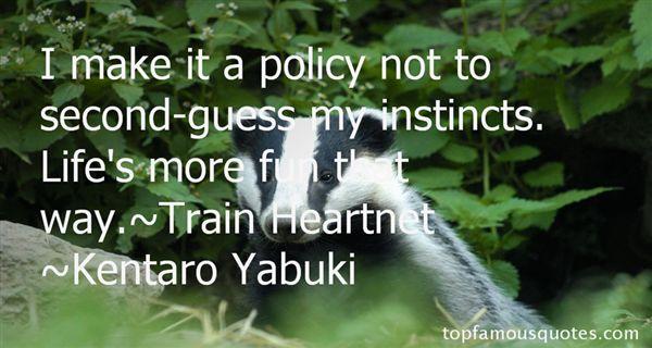 Kentaro Yabuki Quotes