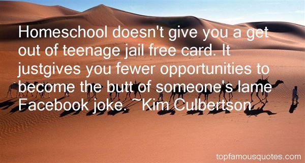 Kim Culbertson Quotes