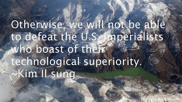 Kim Il Sung Quotes