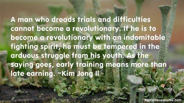 Kim Jong Il Quotes