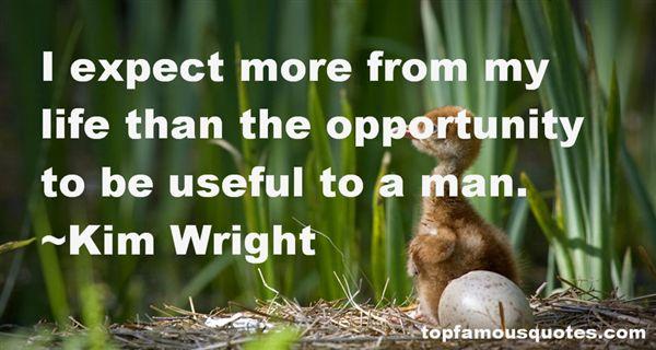 Kim Wright Quotes