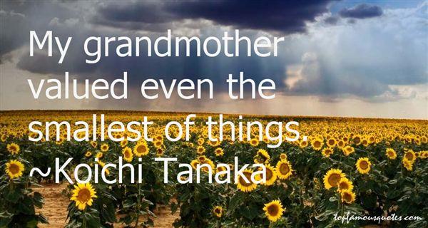 Koichi Tanaka Quotes