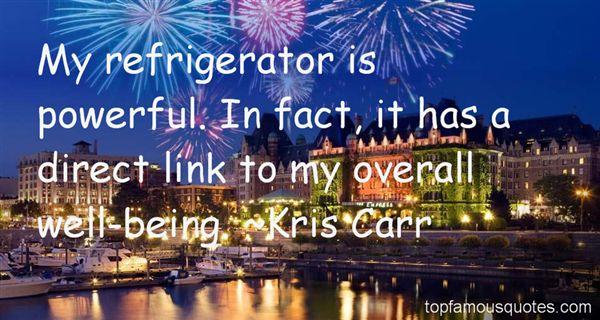 Kris Carr Quotes