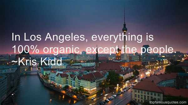 Kris Kidd Quotes