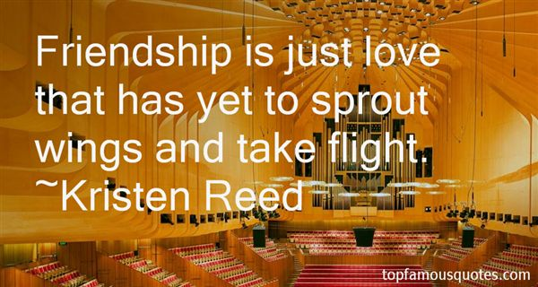 Kristen Reed Quotes